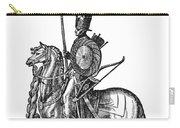 Ottoman Cavalryman, 1576 Carry-all Pouch
