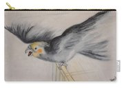 our cockatiel  Coco Carry-all Pouch