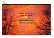 Our God Reigns Carry-all Pouch