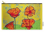 Our Golden Poppies Carry-all Pouch