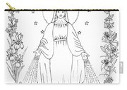Our Lady Of Grace Carry-all Pouch