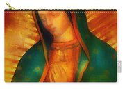 Our Lady Of Guadalupe Carry-all Pouch by Bill Cannon