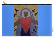 Our Lady Of Sorrows Carry-all Pouch by Angela Yarber