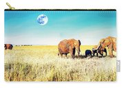 Out In The Serengeti Carry-all Pouch
