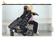 Out Of The Baby Stroller -- A Mother And Daughter Carry-all Pouch