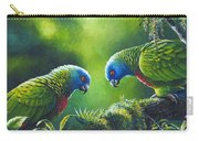 Out On A Limb - St. Lucia Parrots Carry-all Pouch