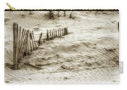Outer Banks Beach Sand Fence  Carry-all Pouch