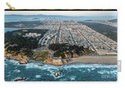 Outer Richmond San Francisco Aerial Carry-all Pouch