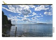 Outhaul On An Island In Casco Bay Maine  Carry-all Pouch
