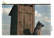 Outhouse Guardian - German Shepherd Version Carry-all Pouch
