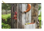 Outhouse In The Garden Carry-all Pouch