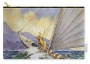Outrigger At Sea Carry-all Pouch