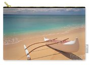 Outrigger On Beach Carry-all Pouch