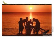 Outrigger Sunset Silhouet Carry-all Pouch