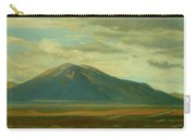 Outside Of Taos Carry-all Pouch by Phyllis Tarlow