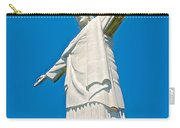 Outstretched Arms Of Christ The Redeemer Icon On Corcovado Mountain In Rio De Janeiro-brazil  Carry-all Pouch
