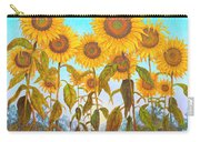 Ovation Sunflowers Carry-all Pouch