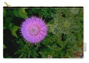 Over A Thistle Carry-all Pouch