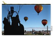 Over Auburn And Lewiston Hot Air Balloons Carry-all Pouch