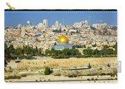 Over Jerusalem Carry-all Pouch