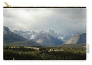 Over The Fence To Dusted Mountains Carry-all Pouch