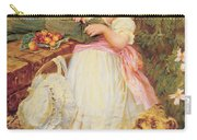 Over The Garden Wall Carry-all Pouch by Frederick Morgan