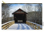 Over The River And Through The Bridge Carry-all Pouch
