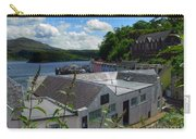 Over The Rooftops At Portree Carry-all Pouch
