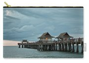 Clouds Over The Naples Pier Carry-all Pouch