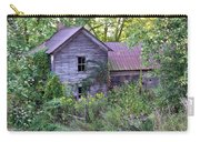 Overgrown Abandoned 1800 Farm House Carry-all Pouch