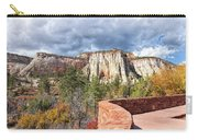Overlook In Zion National Park Upper Plateau Carry-all Pouch