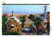 Overlooking Barcelona From Park Guell Carry-all Pouch