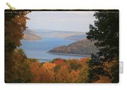 Overlooking Kinzua Lake Carry-all Pouch by Rick Morgan