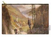 Overlooking Ramsau Bei Berchtesgaden Carry-all Pouch