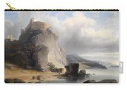 overlooking the castle ruins Devin Carry-all Pouch