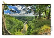 Overlooking The Genesee Carry-all Pouch