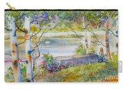 Overlooking The Lake Carry-all Pouch