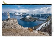 Overlooking Wizard Island In Spring Carry-all Pouch
