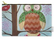 Owl Art Carry-all Pouch