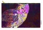 Owl Bird White Raptor  Carry-all Pouch