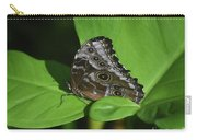 Owl Butterfly With Fantastic Distinctive Eyespots  Carry-all Pouch