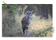 Owl Cherish This Moment Forever Carry-all Pouch