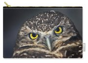 Owl Face To Face Carry-all Pouch