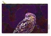 Owl Little Owl Bird Animal  Carry-all Pouch