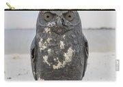 Owl On The Beach Carry-all Pouch