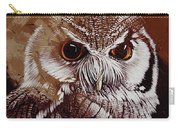 Owl Painting  Carry-all Pouch