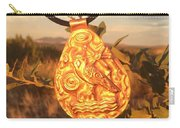 Owl Pendant Carry-all Pouch