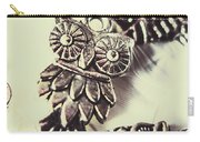 Owl Pendants. Charms Of Wisdom Carry-all Pouch