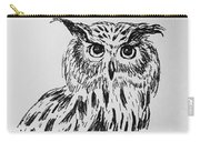 Owl Study 2 Carry-all Pouch