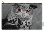 Owls Eye Carry-all Pouch